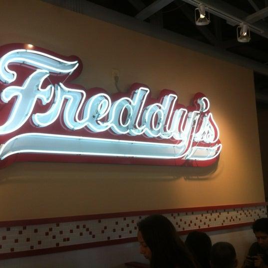Photo taken at Freddy's Frozen Custard and Steakburgers by Jon M. on 11/3/2012