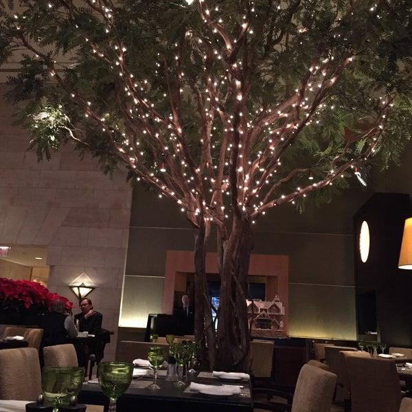 The Garden Restaurant At Four Seasons Hotel New York Midtown East 57 E 57th St