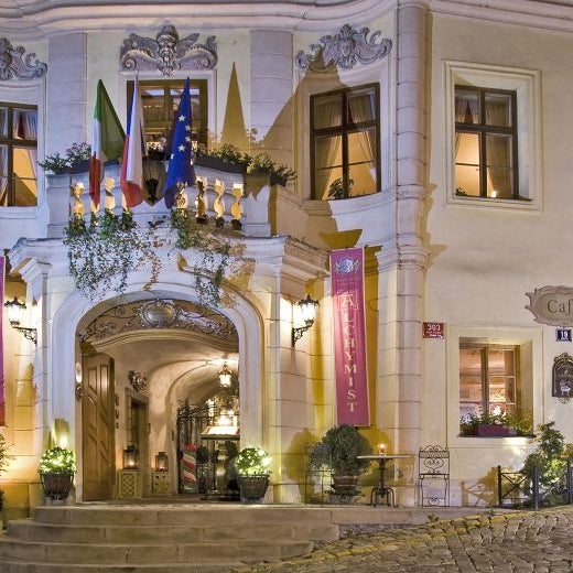 The best hotels in prague for Top hotel prag