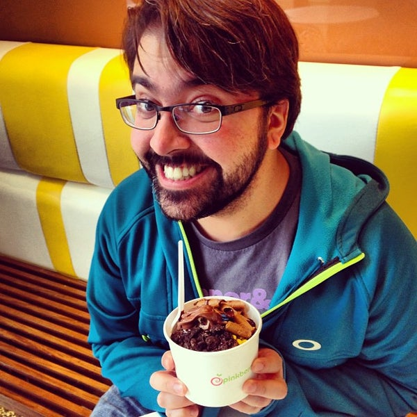 Photo taken at Pinkberry by Alexander T. on 3/25/2013