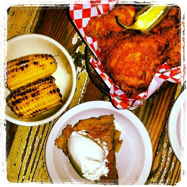 Photo taken at Lucy's Fried Chicken by Jane K. on 2/20/2013