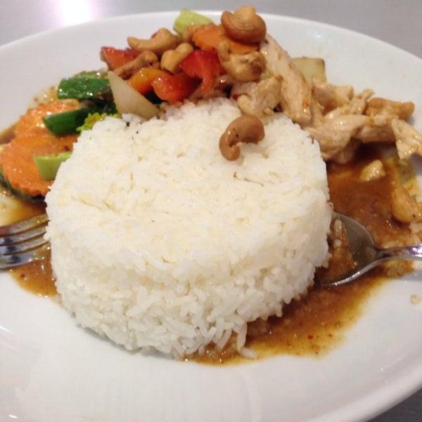 Photo taken at Taste of Thai by Lester M. on 12/2/2013