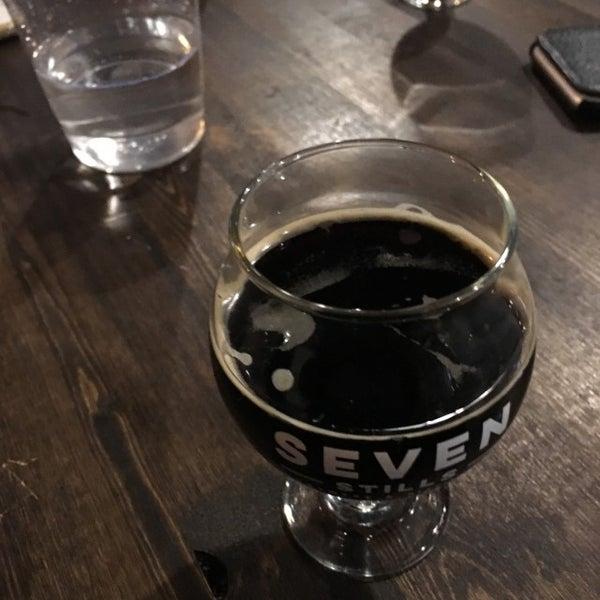 Photo taken at Seven Stills Brewery & Distillery by Jake H. on 3/5/2017