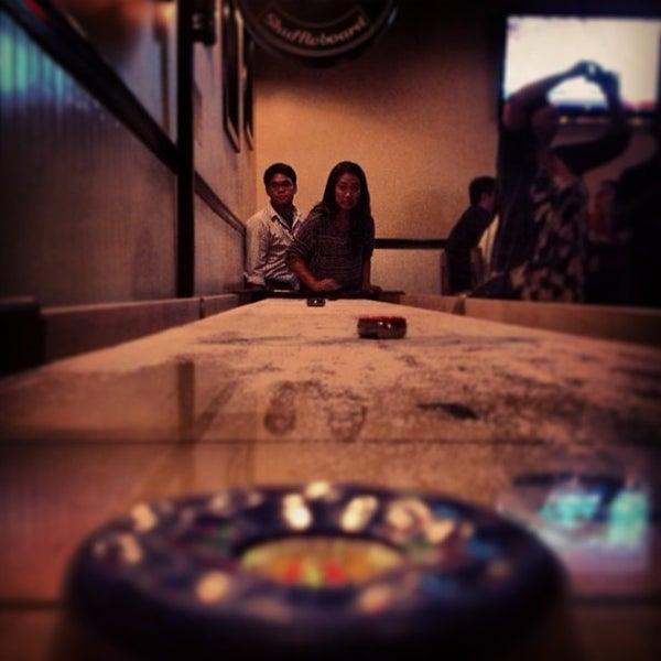 Photo taken at Pint + Jigger by 👑 @coryjim . on 12/31/2012
