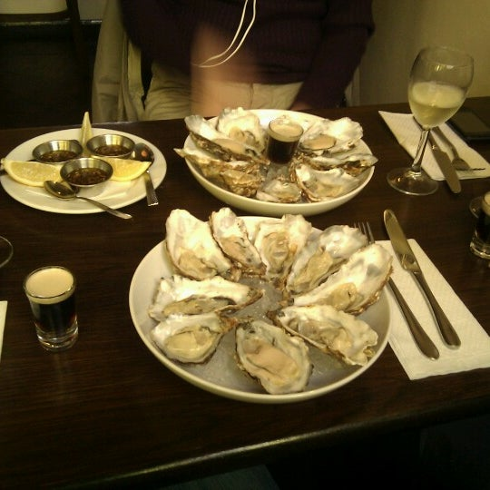 Photo taken at Mourne Seafood Bar by Julien C. on 3/16/2013