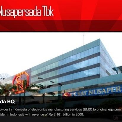 Foto diambil di PT Sat Nusapersada Tbk oleh Meryati L. pada 6/11/2012
