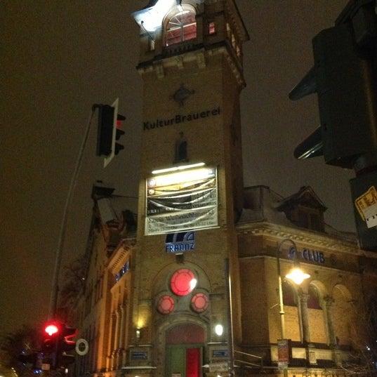 Photo taken at Kulturbrauerei by Mat T. on 12/10/2012