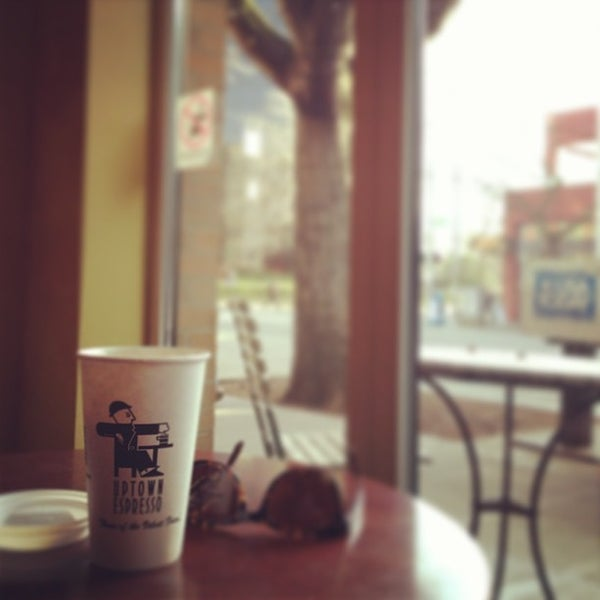 Photo taken at Uptown Espresso by Michael P. on 3/4/2013