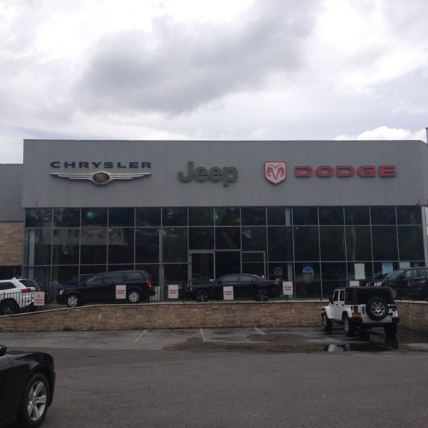 Photo Taken At Eastchester Chrysler Dodge Jeep By Bea E. On 6/14/