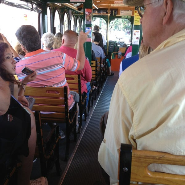 Photo taken at Old Town Trolley Tours of Boston by April B. on 6/19/2013