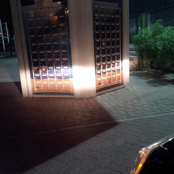 Photo taken at Emirates Post Office مكتب بريد الإمارات by F on 5/8/2014