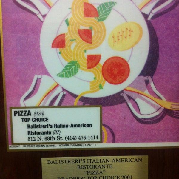 Photo taken at Balistreri's Italian American Ristorante by Dina S. on 2/22/2013