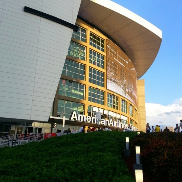 Photo taken at American Airlines Arena by Semp R. on 5/22/2013