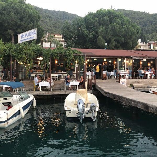 7/9/2018 tarihinde Yusuf A.ziyaretçi tarafından Fethiye Yengeç Restaurant'de çekilen fotoğraf