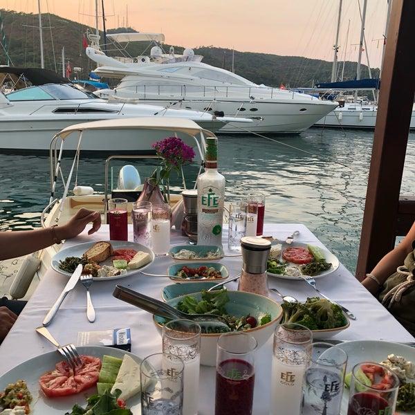 7/2/2018 tarihinde Yusuf A.ziyaretçi tarafından Fethiye Yengeç Restaurant'de çekilen fotoğraf