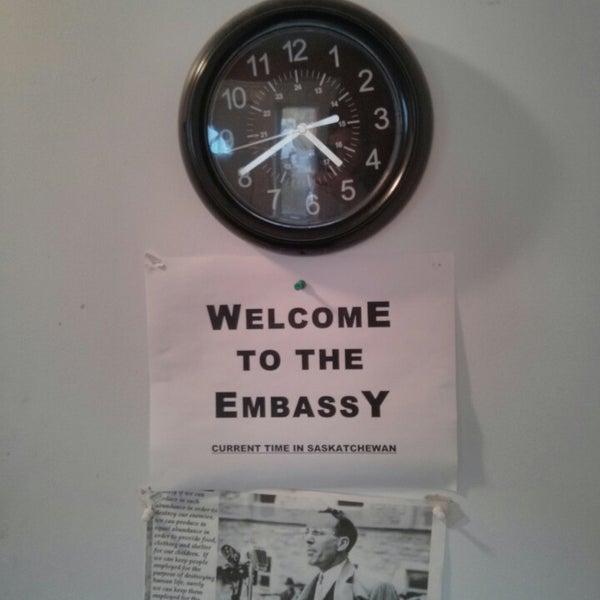 Photos At The Saskatchewan Embassy Whitehorse YT - Current time in saskatchewan