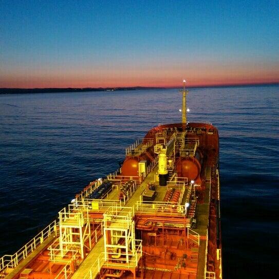 Photo taken at Port de Tarragona by Turgay K. on 4/13/2015