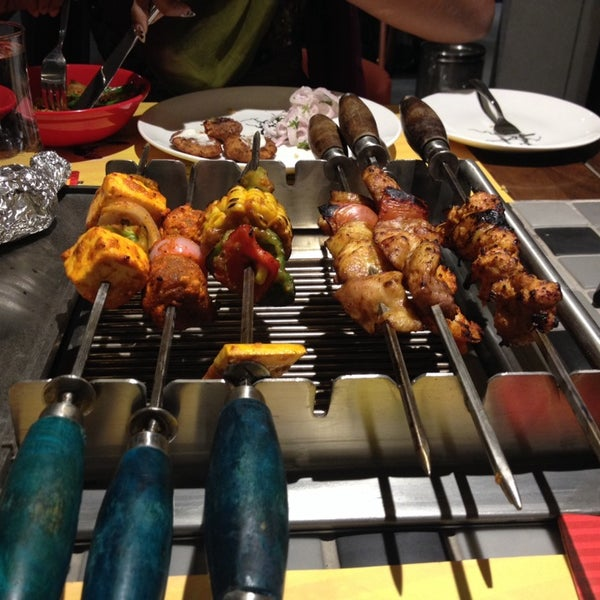 Photo taken at Absolute Barbecues (ABs) by Deepti N. on 9/24/2013