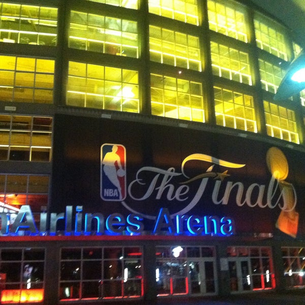 Photo taken at American Airlines Arena by Leo R. on 7/8/2013
