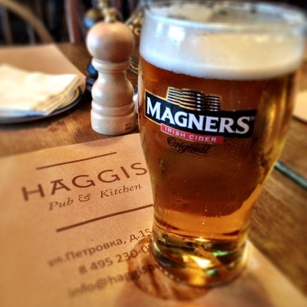 Photo taken at Haggis Pub & Kitchen by Anatoly A. on 8/8/2014