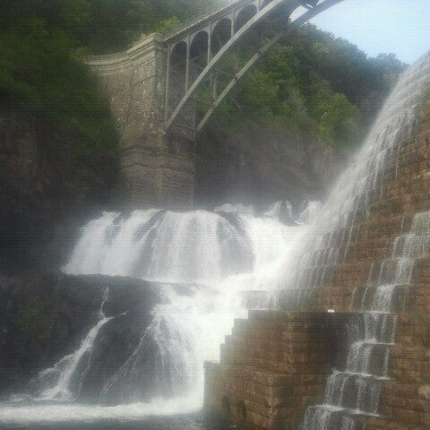 Photo taken at Croton Gorge Park by coco h. on 9/22/2012