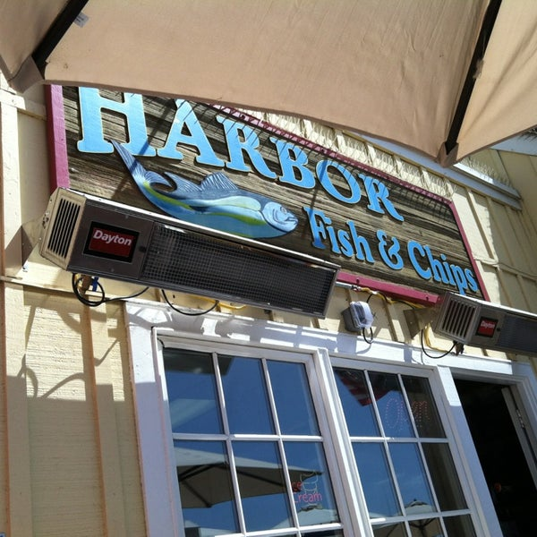 Photo taken at Harbor Fish and Chips by elsa on 6/21/2013