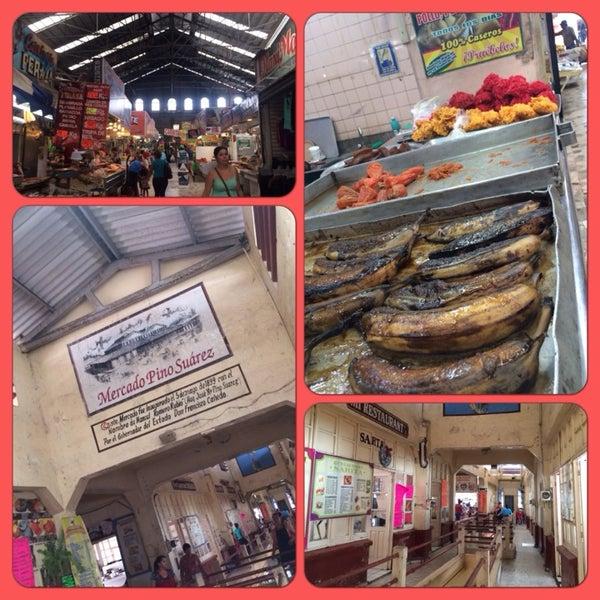 Foto diambil di Mercado Pino Suarez oleh Marcelle B. pada 7/8/2014
