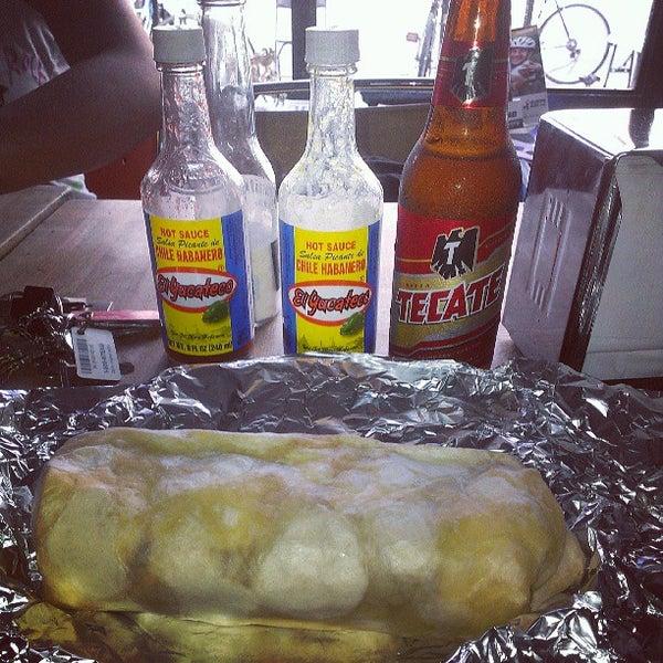 Photo taken at El Loco Burrito by ricardo a. on 7/27/2013