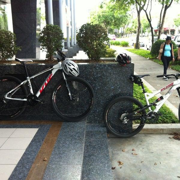 Photo taken at Globe Telecom IT Plaza by Elmer S. on 3/9/2013