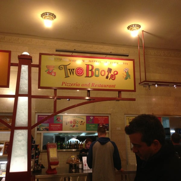two boots grand central now closed pizza place in midtown east