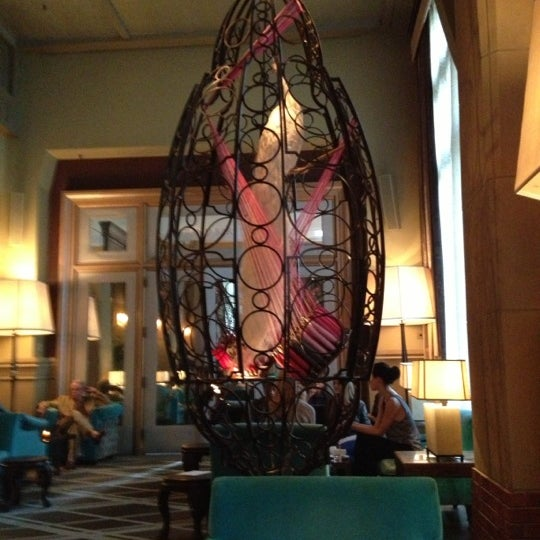 Photo taken at Soho Grand Hotel by Christine O. on 10/5/2012