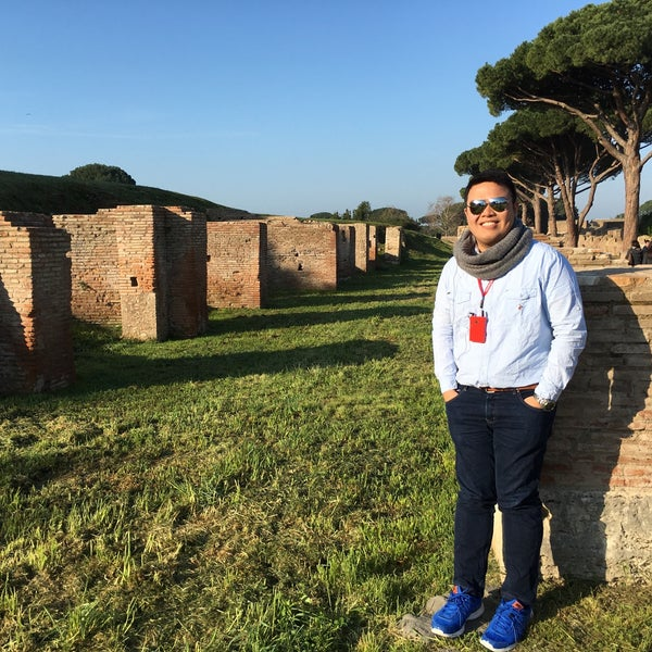 Photo taken at Ostia by Norman P. on 3/27/2016