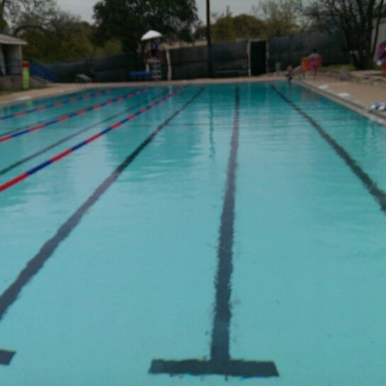 Photo taken at Big Stacy Pool by Bert M. on 3/23/2014