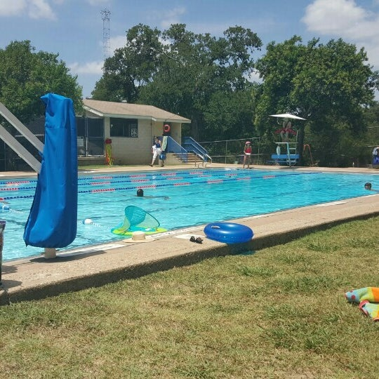 Photo taken at Big Stacy Pool by Bert M. on 7/26/2015