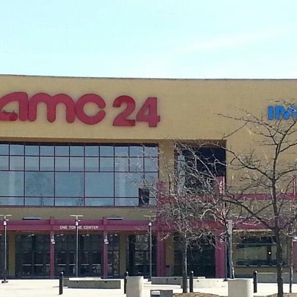 Photo taken at AMC Hampton Towne Centre 24 by Steven J. on 4/1/2014