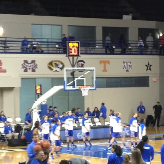 Photo taken at Memorial Coliseum by Bill R. on 11/23/2012