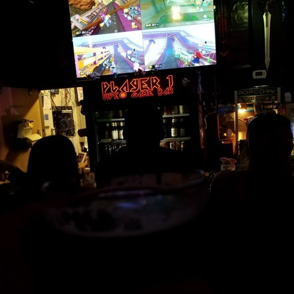 Photo taken at Player 1 Video Game Bar by Steven F. on 5/28/2017