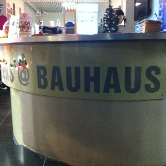 Photo taken at St Christopher's at the Bauhaus by Art א. on 12/25/2012