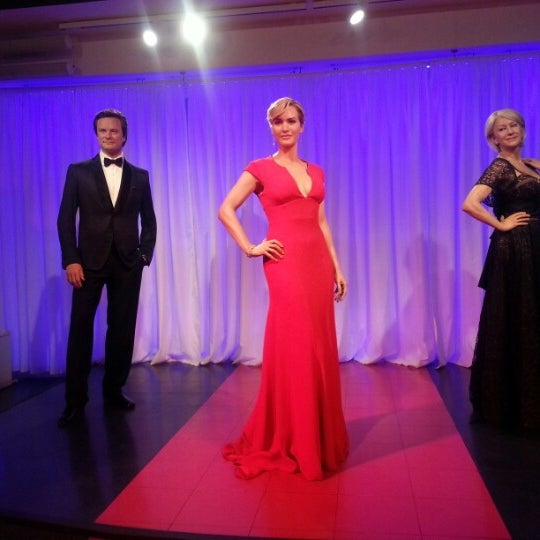Photo taken at Madame Tussauds by A. on 12/18/2012