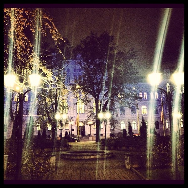 Photo taken at University of Latvia by Елена У. on 11/18/2012