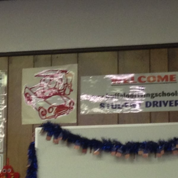 Photo taken at Buffalo Driving School by Chris W. on 1/18/2014