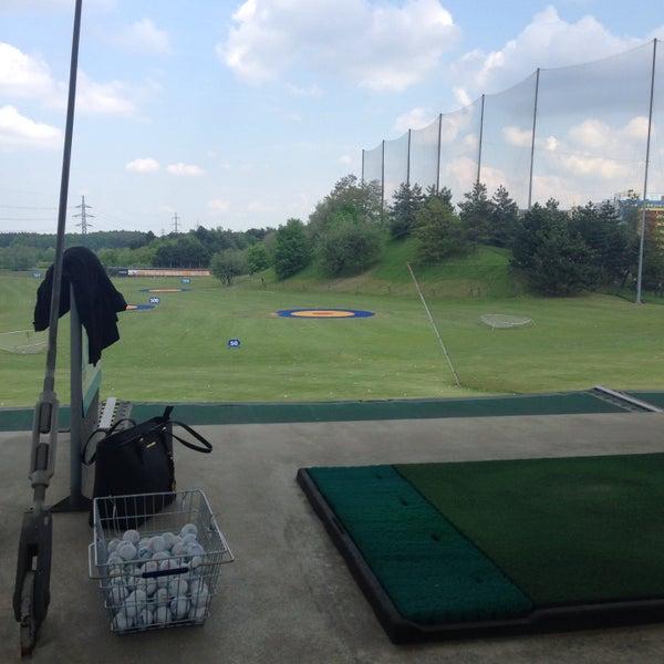 Photo taken at Golf Hostivař by Jitka L. on 5/14/2016
