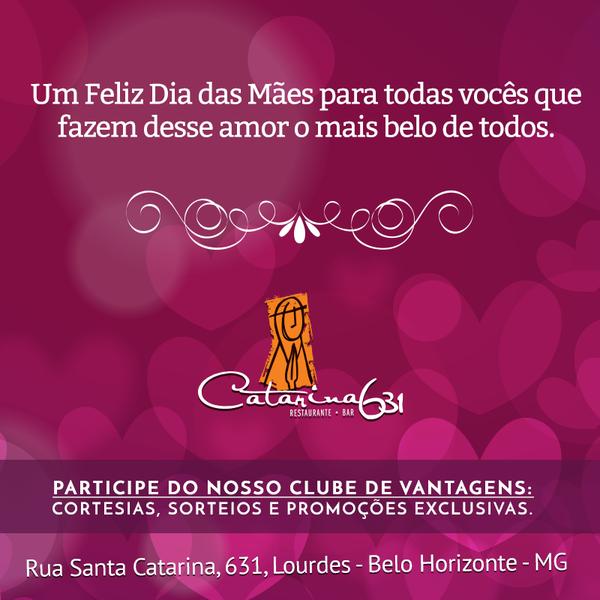 Sábado especial dia das mães é no Catarina631. Venha desfrutar de um sábado agradável com o melhor Feijoada do Lourdes. #diadasmães #restaurantelourdes #feijoadabh