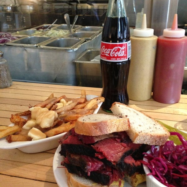 Photo taken at Mile End Delicatessen by Victor S. on 3/18/2013