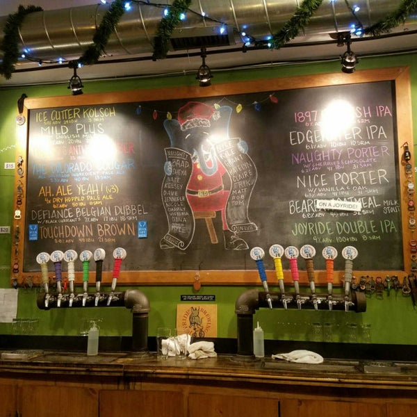 Photo taken at Joyride Brewing Company by Jason C. on 12/24/2017