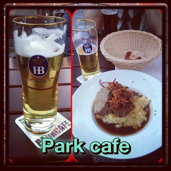 Photo taken at Park Café by Sean on 8/21/2013