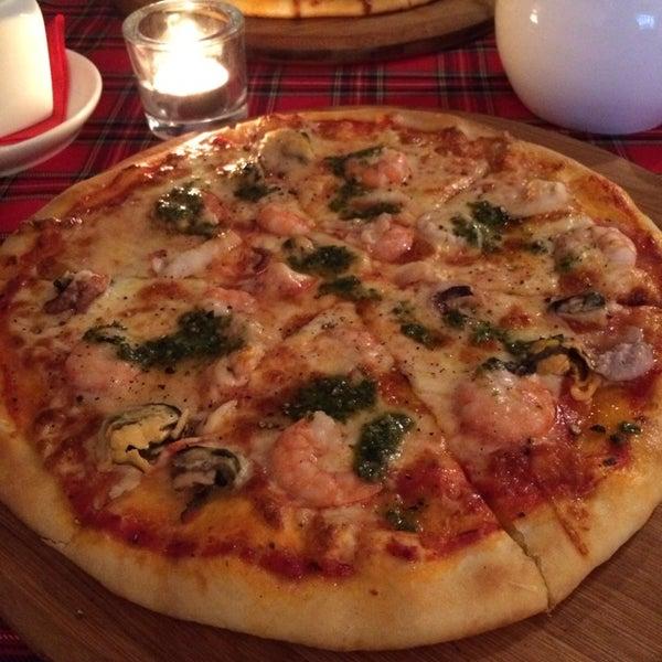 Пицца - ароматна и вкусна