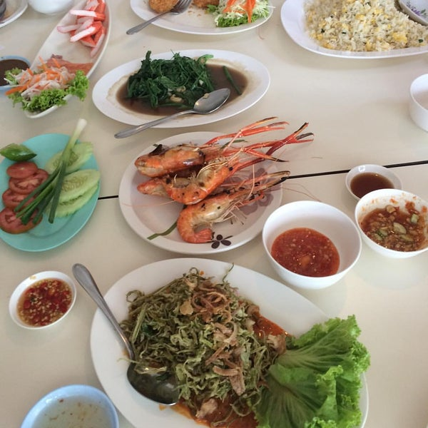Photo taken at บ้านเอกเขนก by ole P. on 1/3/2016