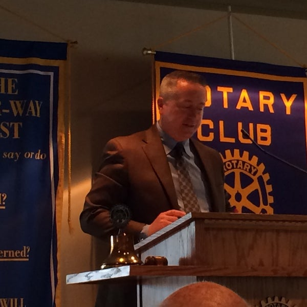 Photo taken at The Rotary Club of Omaha Meetings by Todd M. on 9/3/2014