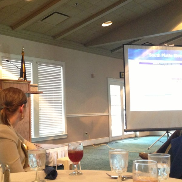 Photo taken at The Rotary Club of Omaha Meetings by Todd M. on 9/18/2013